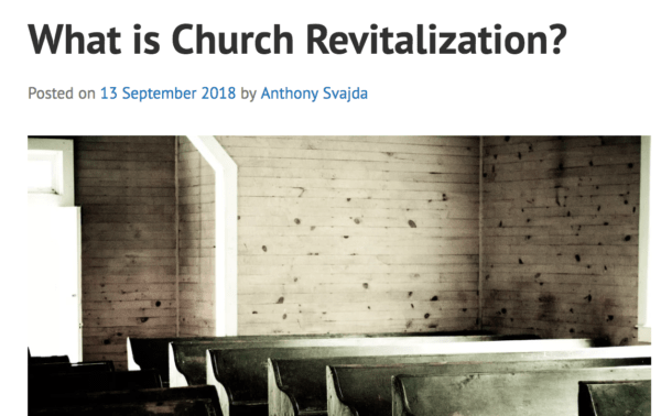 New Post on CaffeinatedTheology – What is Church Revitalization?