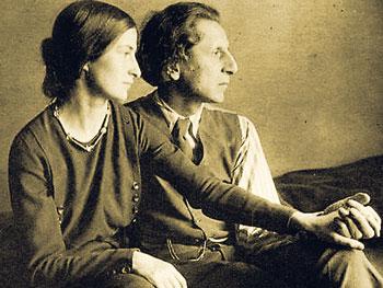 Coomaraswamy mit seiner ersten Frau Ethel Partridge