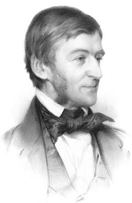 Ralph Waldo Emerson, Radierung