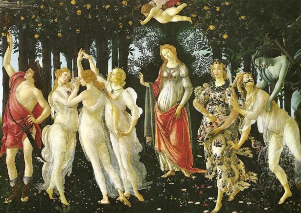 Botticelli, Primavera