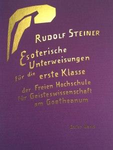 Die esoterischen Unterweisungen Rudolf Steiner für die Mitglieder der Hochschule wurden erst 1992 in der Gesamtausgabe veröffentlicht.