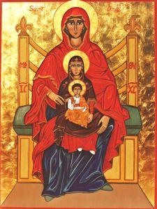 Auch eine Perichorese: Anna, Maria, Jesus. – Bild: Kathleen Anderson.