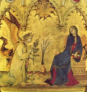 Simone Martini, Verkündigung 1333