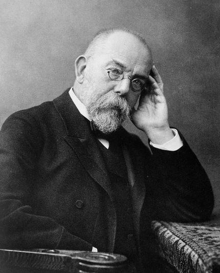 Corona-Krise. Robert Koch