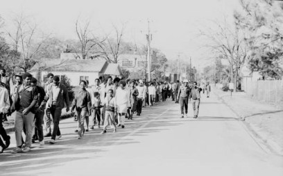 Tallahassee Civil Rights March 1971