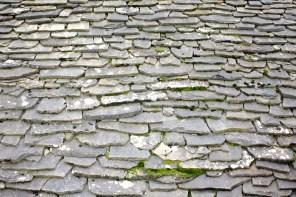 Slate roof, Greece