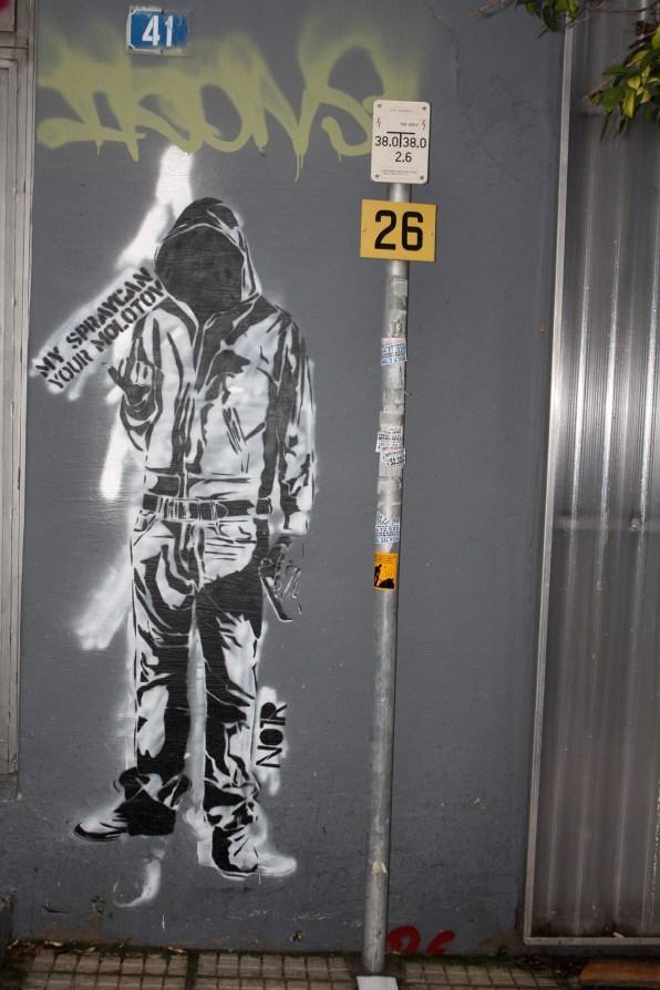 Street art, athens