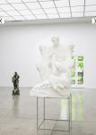 Oliver Laric- Beethoven print. 2.88m tall in Sintered Nylon