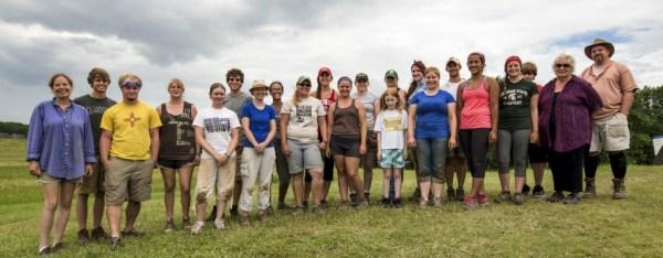Aztalan Excavation Team, via Dr. Lynne Goldstein