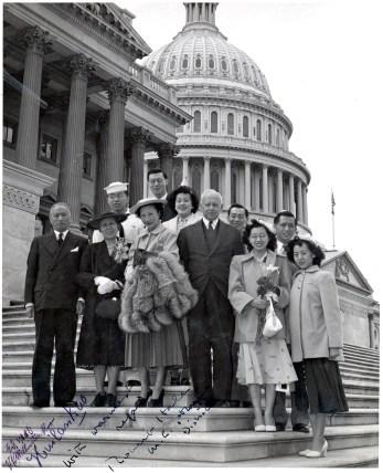 Toy Len Goon in Washington DC 1952