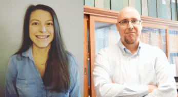 Photos of Dr. Camp and Dr. Watrall