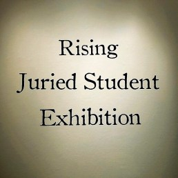 The theme for this exhibition is 'Rising'.