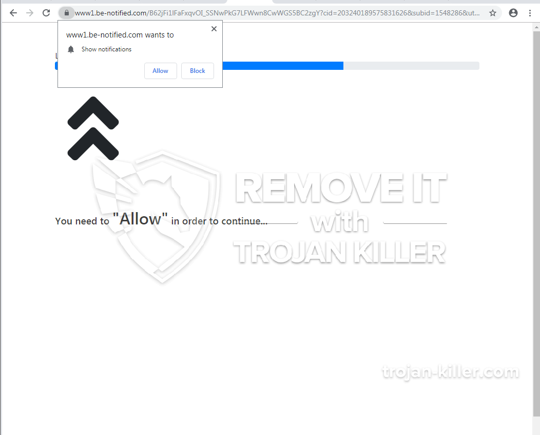remove Be-notified.com