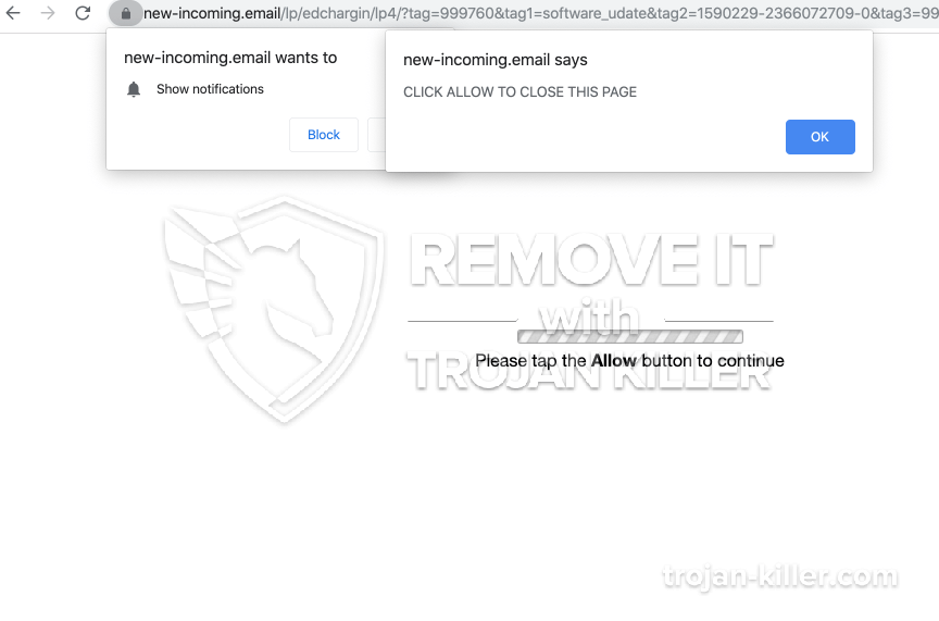 remove New-incoming.email