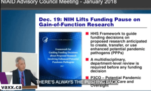 anthony-fauci-nih-national-institute-health-gain-of-function-research-proof-funding-covid-19-virus-sars-pathogen-contagious-dose