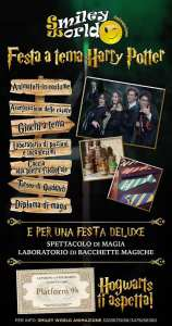 Cavallino Matto Cerveteri Festa a Tema Harry Potter