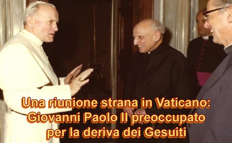 """Il """"caso gesuiti"""". Giovanni Paolo II convoca una riunione segreta in Vaticano"""