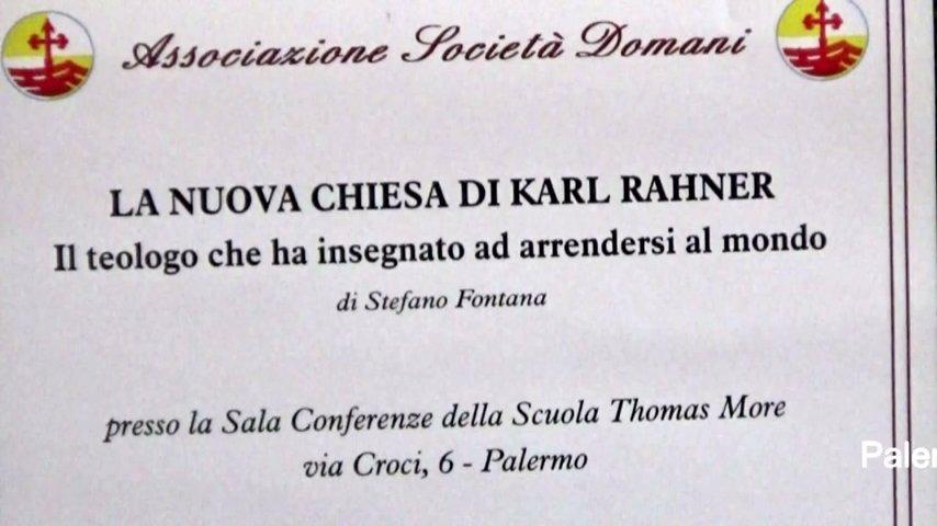 """Stefano Fontana presenta il suo libro """"La nuova Chiesa di Karl Rahner"""""""