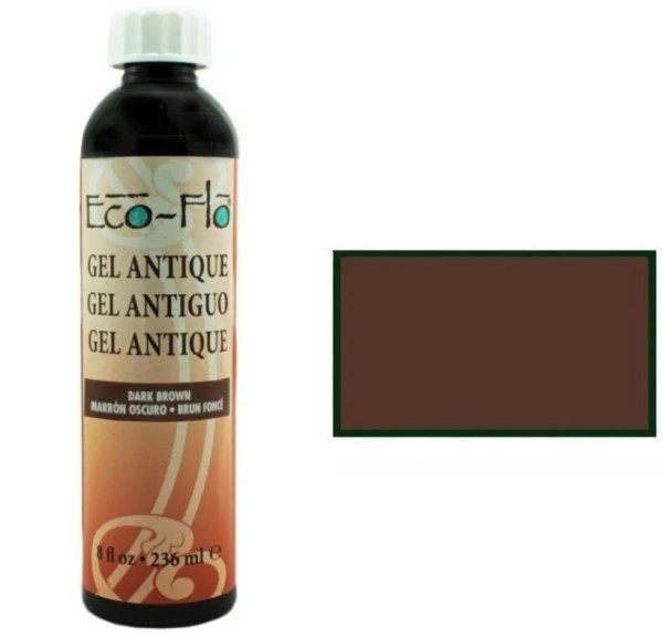 Eco-Flo Antique гель DARK BROWN