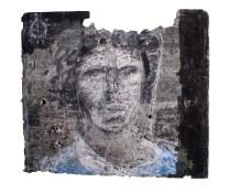 El pintor y la tabla IX (Celeste)