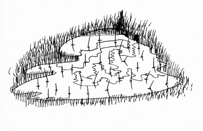 TDUEPURC-6-Tambores-Agua en el campo. Tinta sobre papel obra (Copiar) (Copiar)