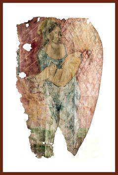 DIE MUTTER (From the series The burden) 190 x 130 cm, 2016