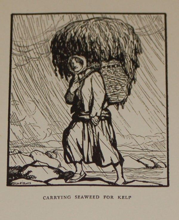Jack B Yeats Carrying Sea Weed For Kelp, 1911 print