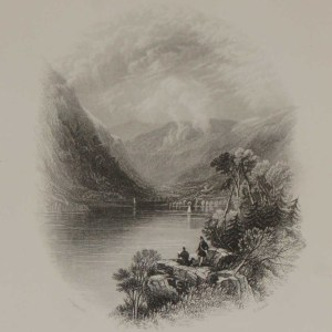 antique print luggellaw wicklow 1871