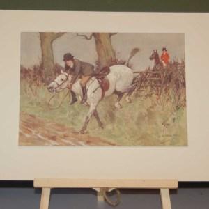 Plate XVIII- George Meredith Illustrated
