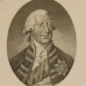 George 111 His Britannic Majesty 1791 Antique Print