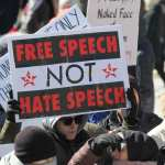 Hate speech protest