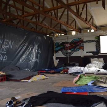 Inside the No Borders Hostel, Belgrade