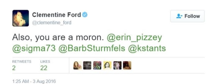 http://www.antifeminismaustralia.com/news/clementine-ford-attacks-founder-womens-shelter-erin-pizzey/
