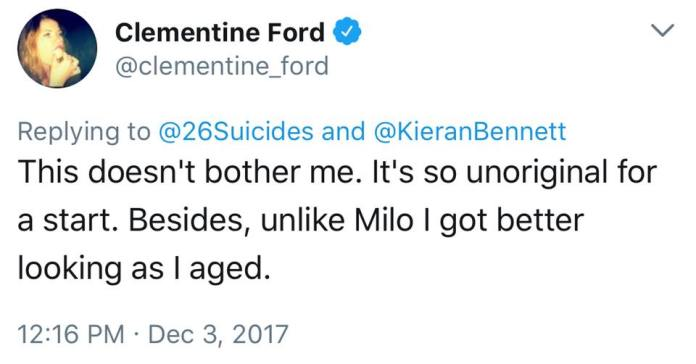 Milo Yiannopoulos destroys Clementine Ford
