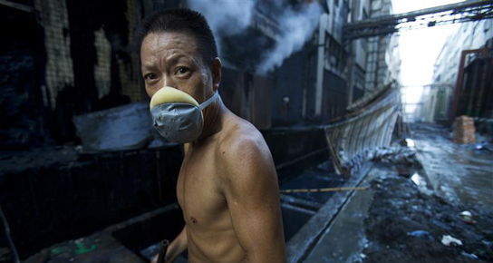 Factory Worker in Guangdong Province