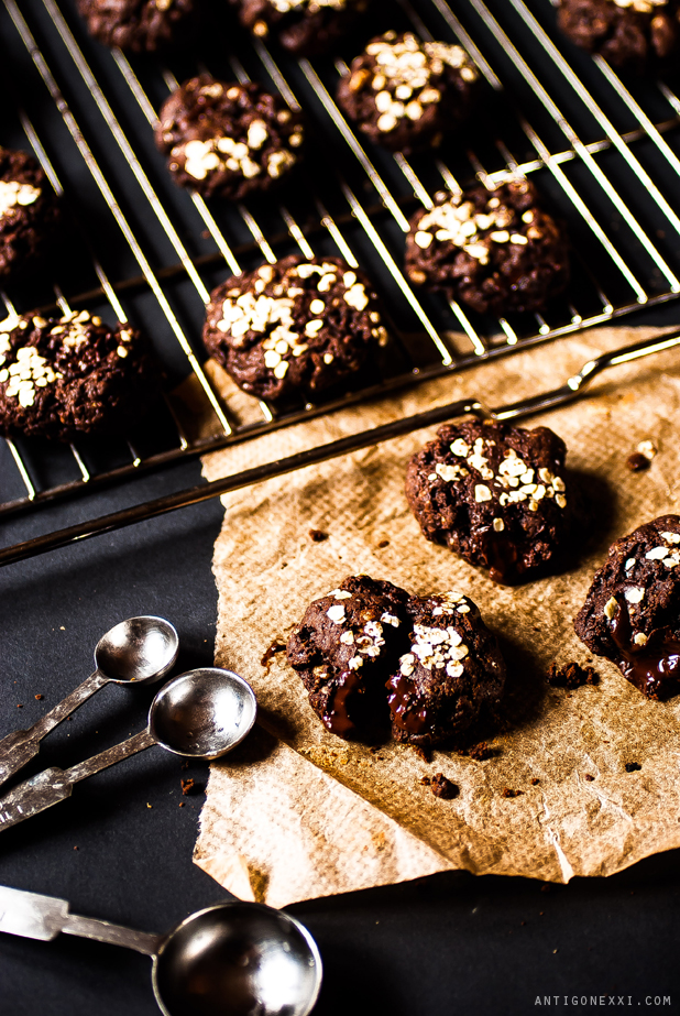 The very chocolatey vegan cookies - Antigone XXI