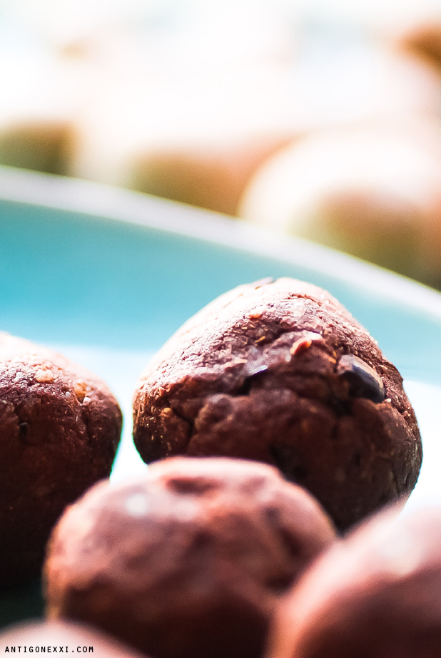 Truffes d'okara au chocolat - Antigone XXI