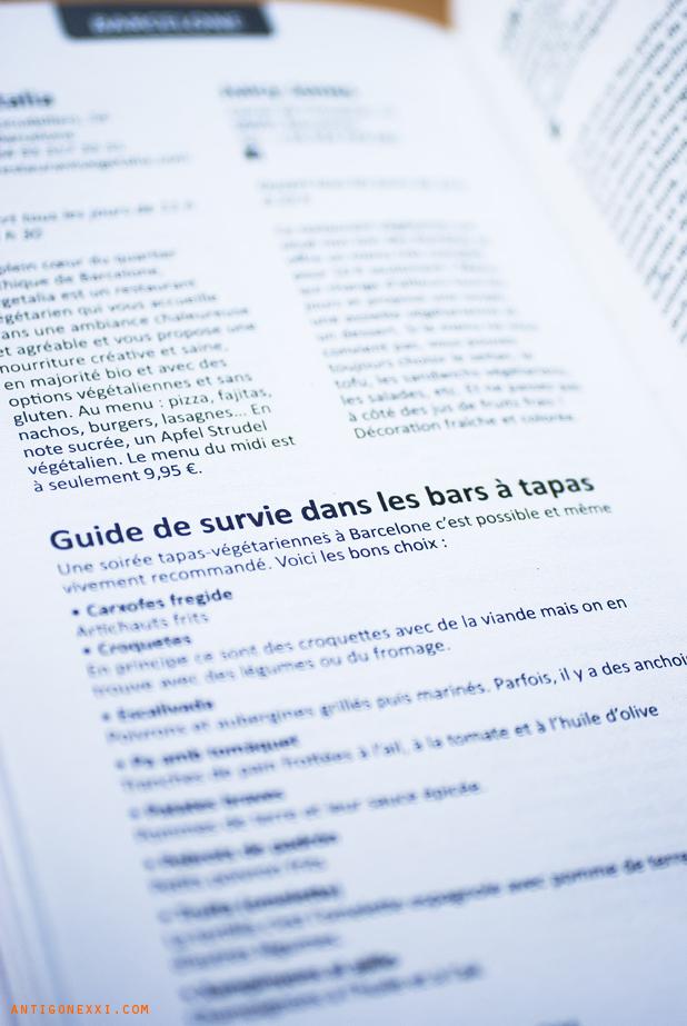 Guide des Restos veggies (La Plage) - Antigone XXI