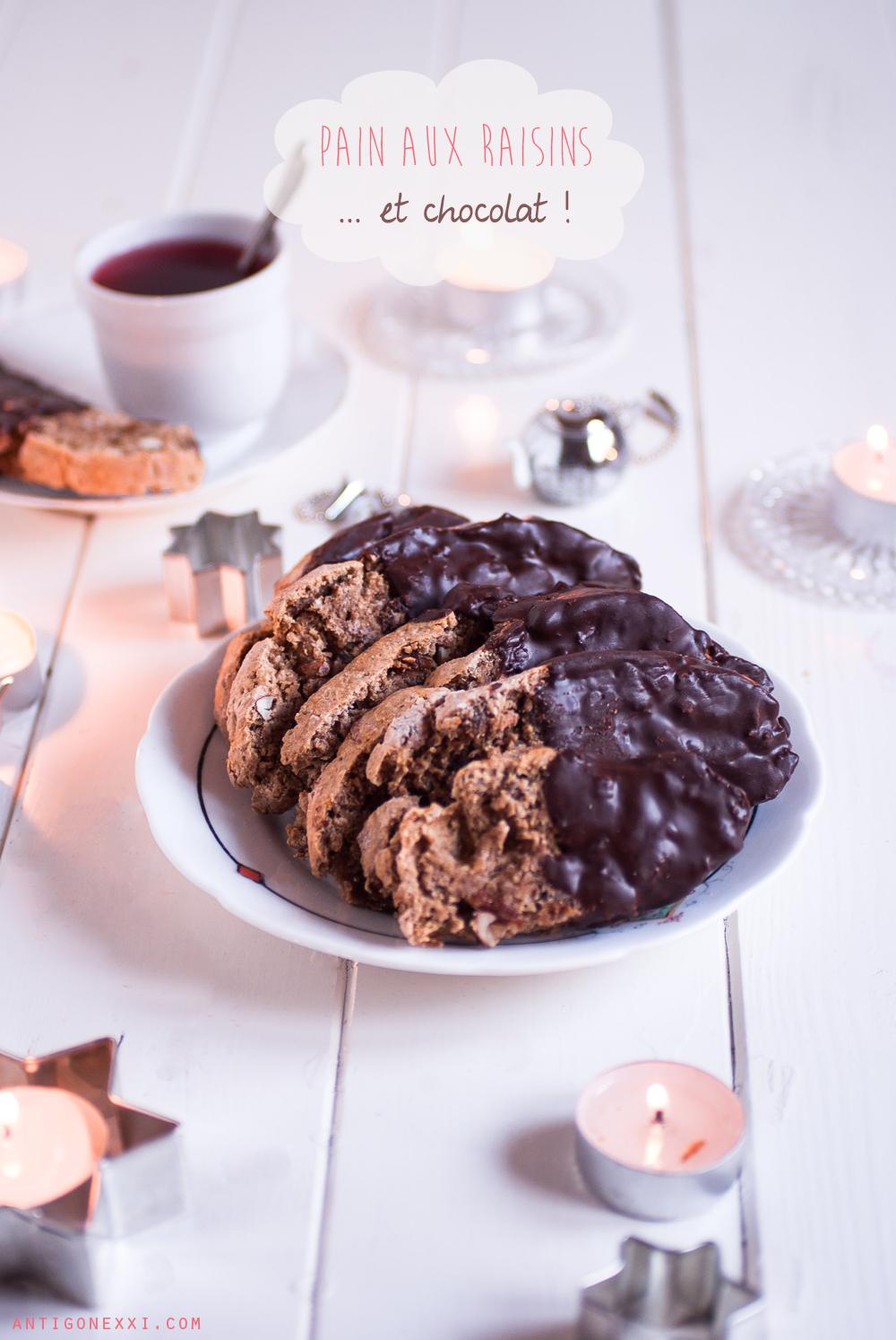 pain de no l aux raisins et au chocolat v gane antigone xxi. Black Bedroom Furniture Sets. Home Design Ideas