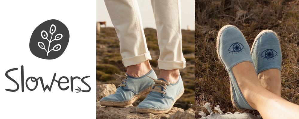 e445fd5eb66ea Slowers est une marque qui propose des chaussures véganes cousues main