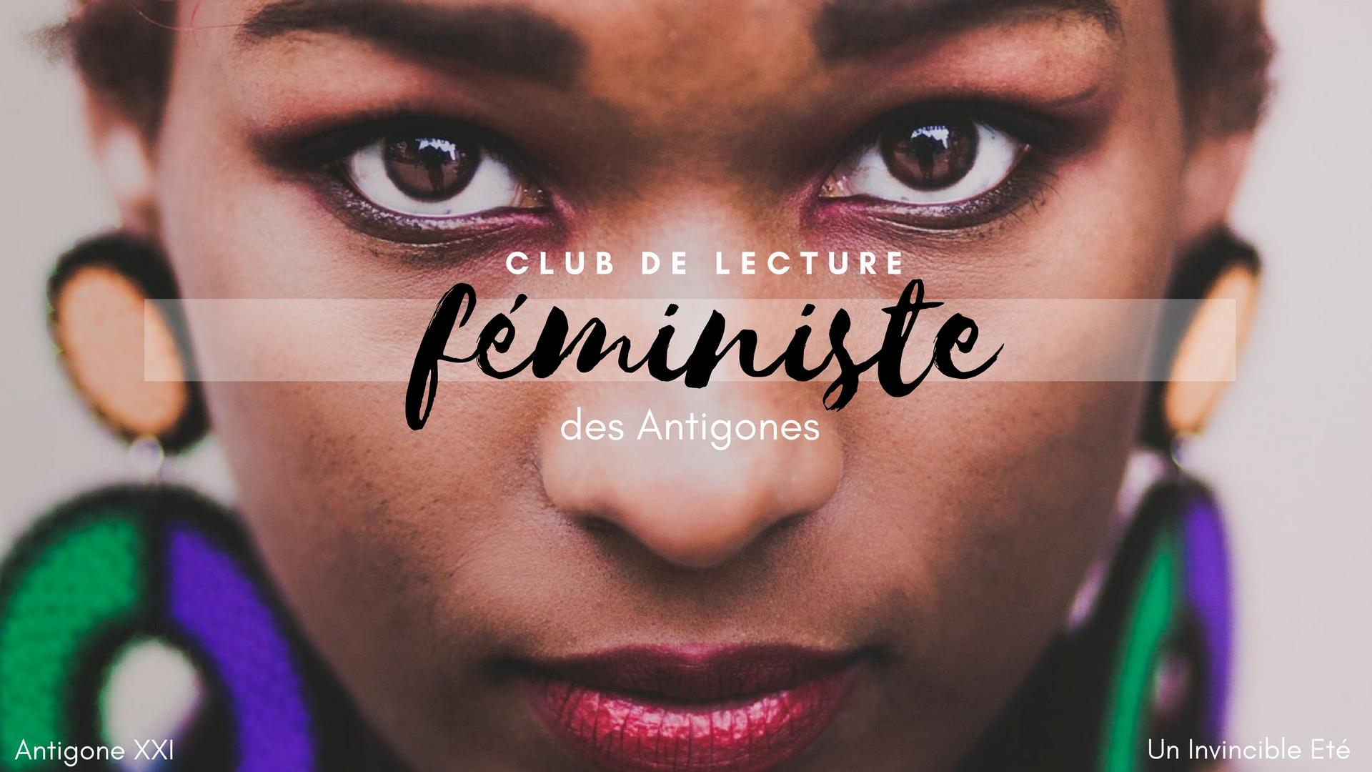 Club de lecture féministe des Antigones