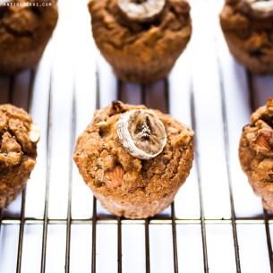 Banana Bread Muffins ♥