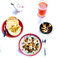 Porridge kiwi & matcha Chia