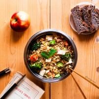 Salade de riz à l'orientale
