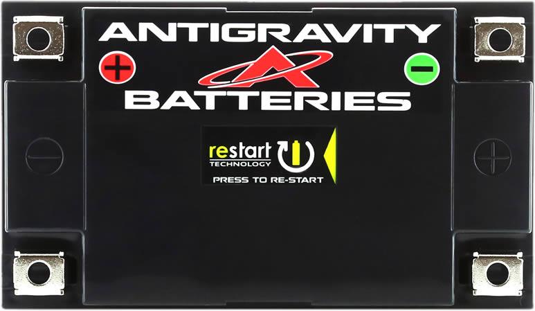 4 Terminal Motorcycle Battery, Antigravity Re-Start & BMS