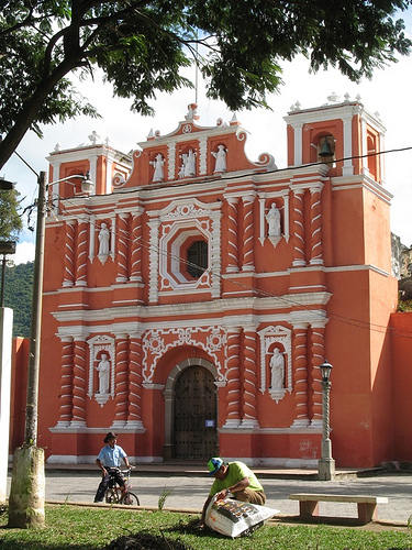 Jocotenango's Cathedral