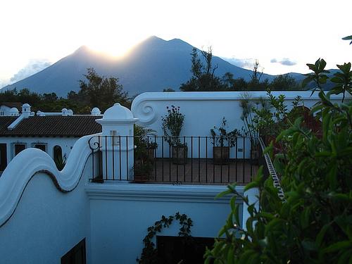 Casa Antigüeña: Volcanoes Panoramic View
