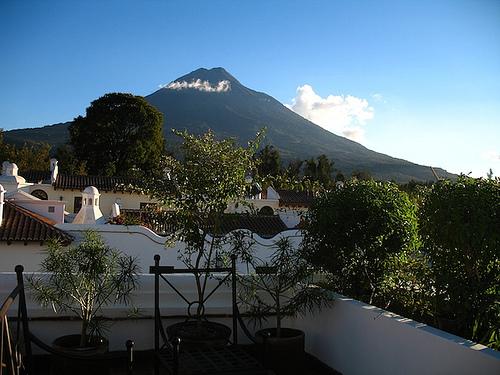 Casa Antigüeña: Volcán de Agua View