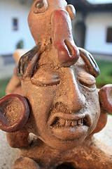 Antique Mayan Sculpture Replica