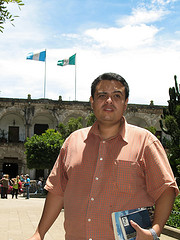 Jeanfer enjoying his freedom in La Antigua Guatemala